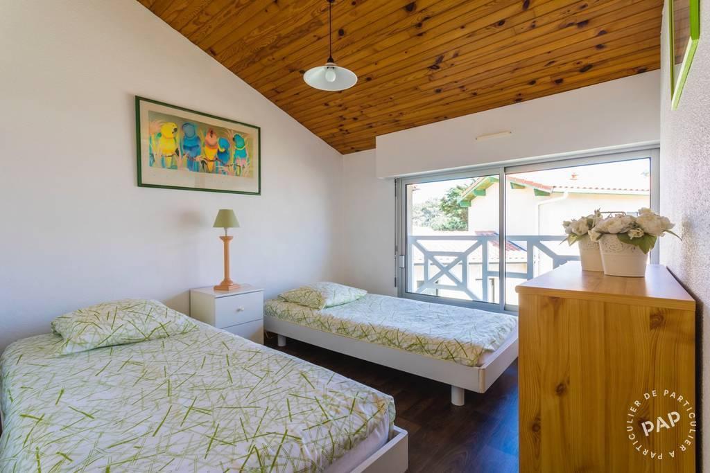 location maison biscarrosse plage 5 personnes d s 280 euros par semaine ref 20200418. Black Bedroom Furniture Sets. Home Design Ideas