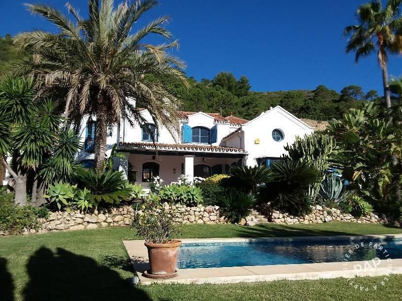 Pres Marbella - dès 1.500 euros par semaine - 8 personnes