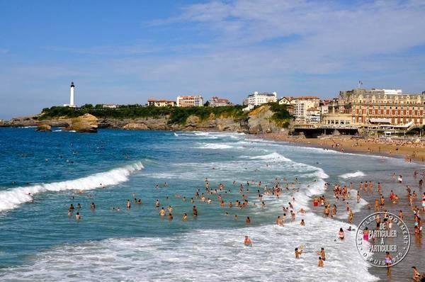 Biarritz - d�s 380 euros par semaine - 3 personnes