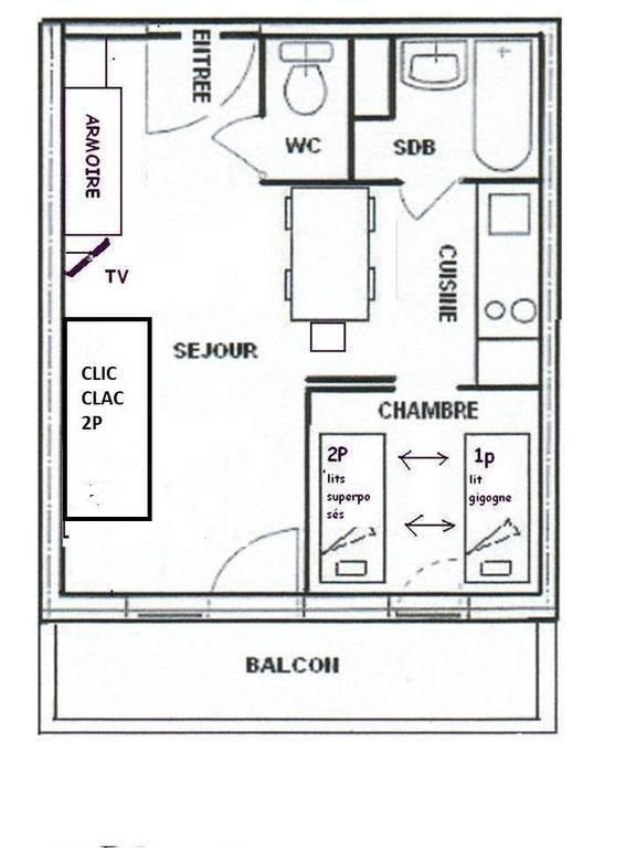 Appartement La Plagne Soleil