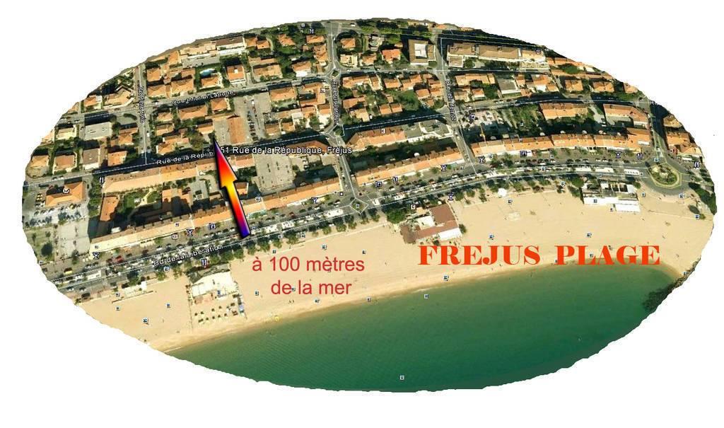 Frejus Plage - d�s 300 euros par semaine - 5 personnes