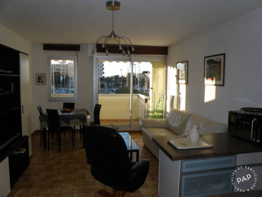 Location appartement canet en roussillon port 4 personnes for Location garage canet en roussillon