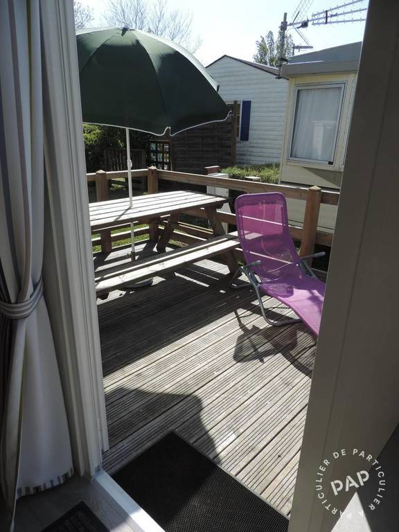 Location mobil home louannec perros guirec 5 personnes d s for Camping perros guirec piscine