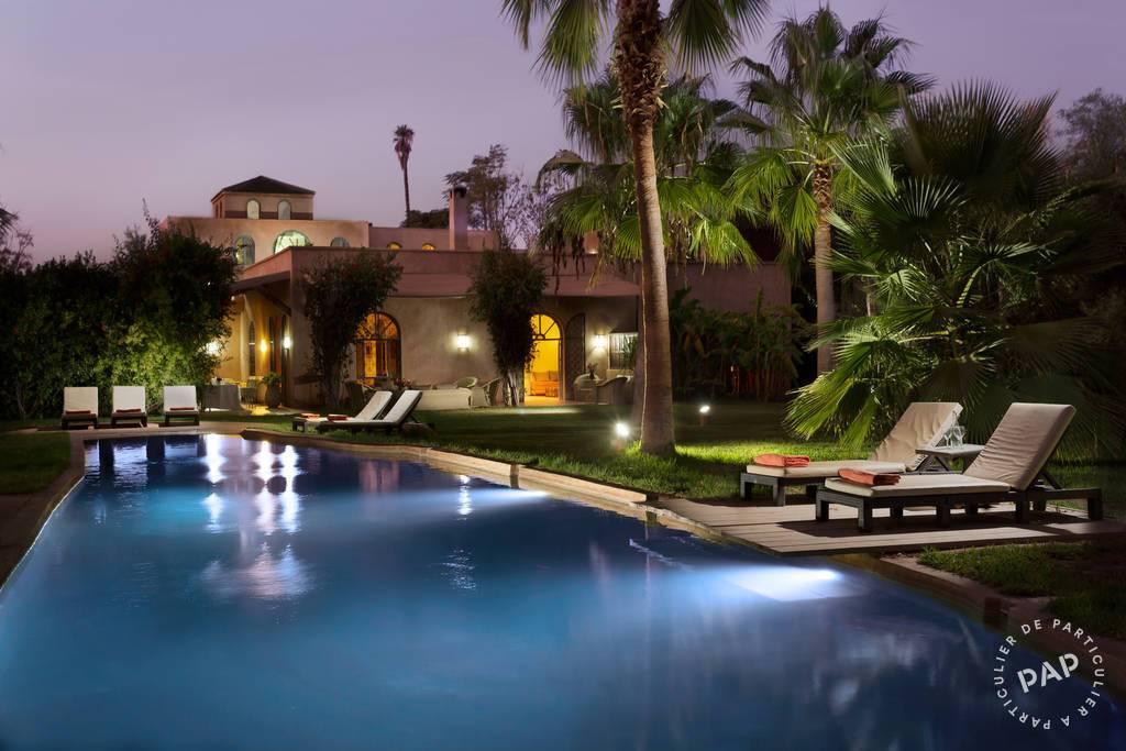 Marrakech - dès 2.450 euros par semaine - 28 personnes