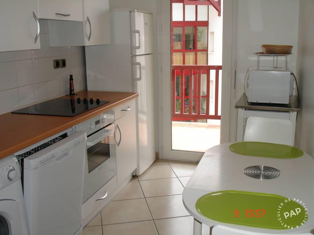 location appartement ciboure st jean de luz 4 personnes d s 350 euros par semaine ref. Black Bedroom Furniture Sets. Home Design Ideas