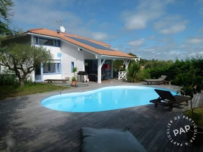 Location maison vacances capbreton 40130 particulier for Piscine capbreton