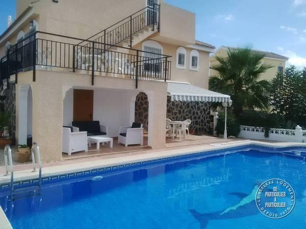 Mazarron- Murcia Espagne - dès 500 euros par semaine - 7 personnes