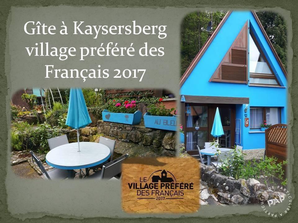 Kaysersberg - dès 300 euros par semaine - 5 personnes