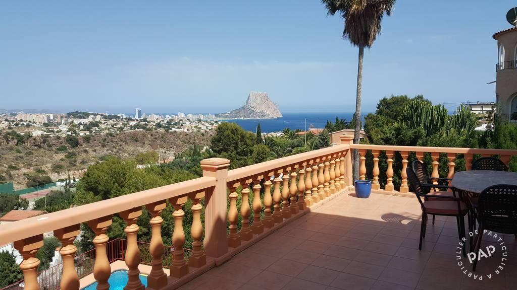 Alicante Calpe - dès 395 euros par semaine - 6 personnes