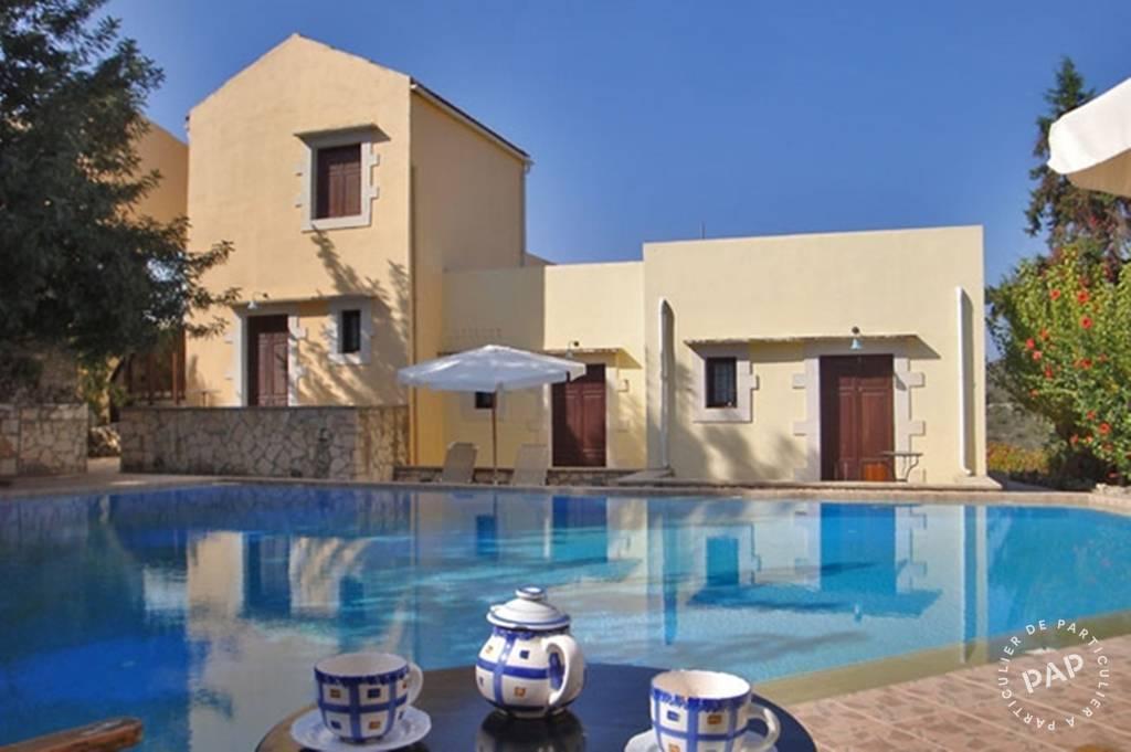 Chania -crete - dès 350euros par semaine - 3personnes
