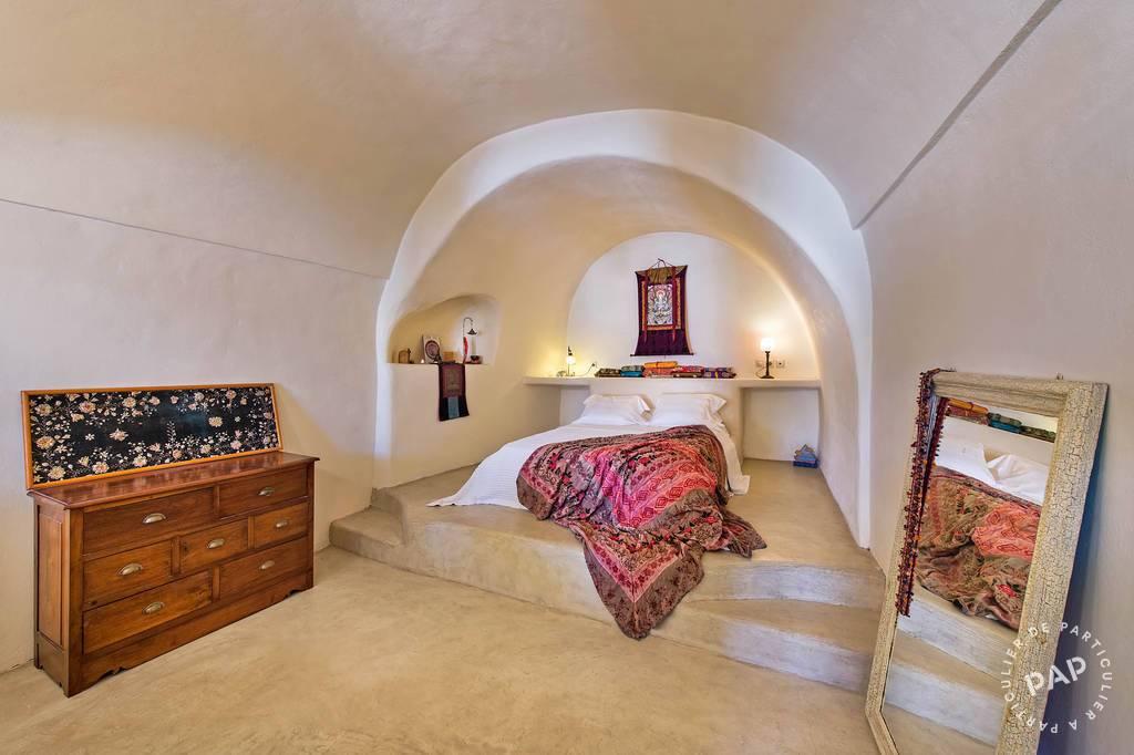 immobilier  Santorini