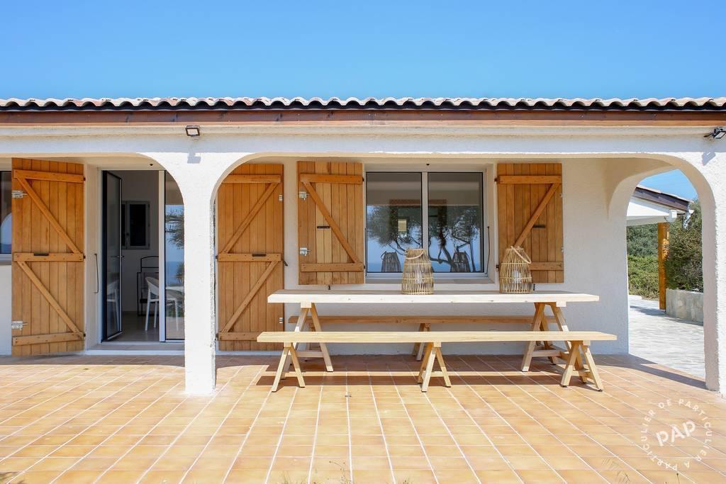 immobilier  Villa Golfe Favone Corsica