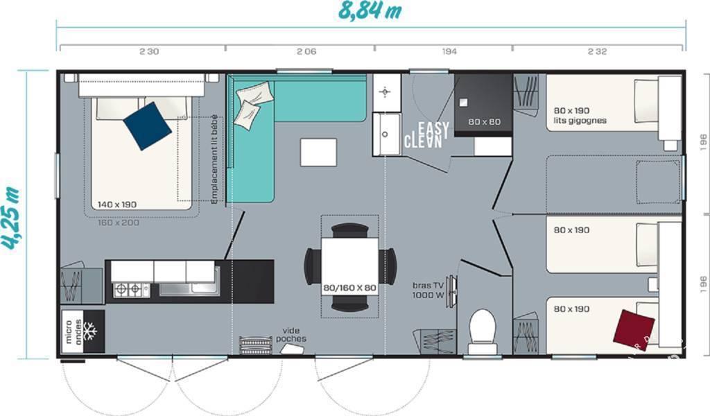Mobil-home   34450 Vias Plage