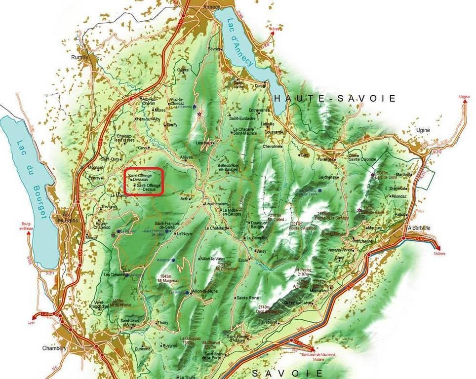 Maison Saint-Offenge-Dessous (73100)