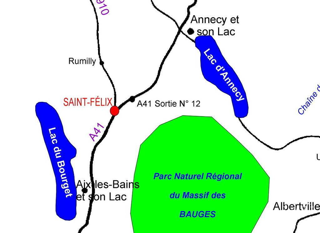 Immobilier Saint-Félix (74540)