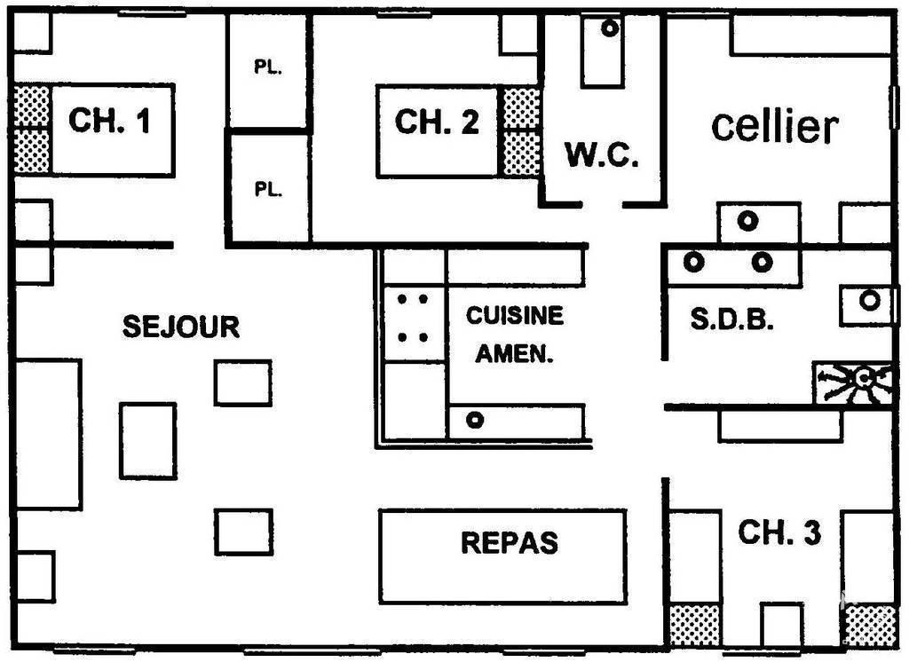 Maison Le Palais (56360)