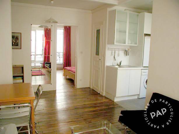 location meubl e appartement 2 pi ces 31 m paris 18e 31 m e de particulier. Black Bedroom Furniture Sets. Home Design Ideas