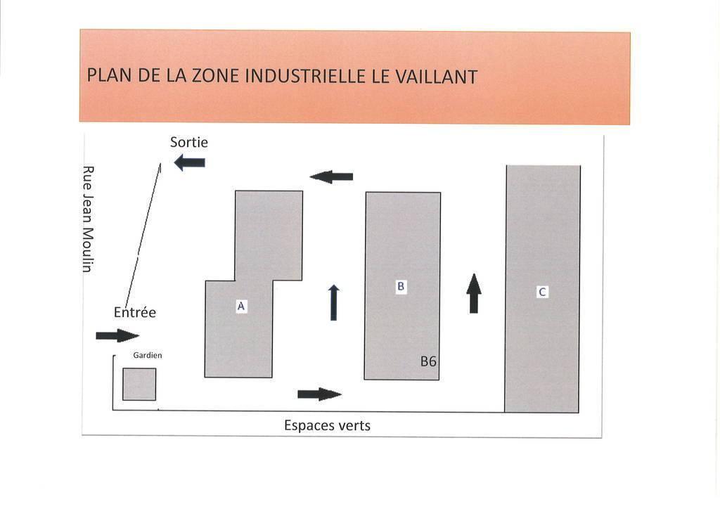 Location Local d'activité Le Bourget