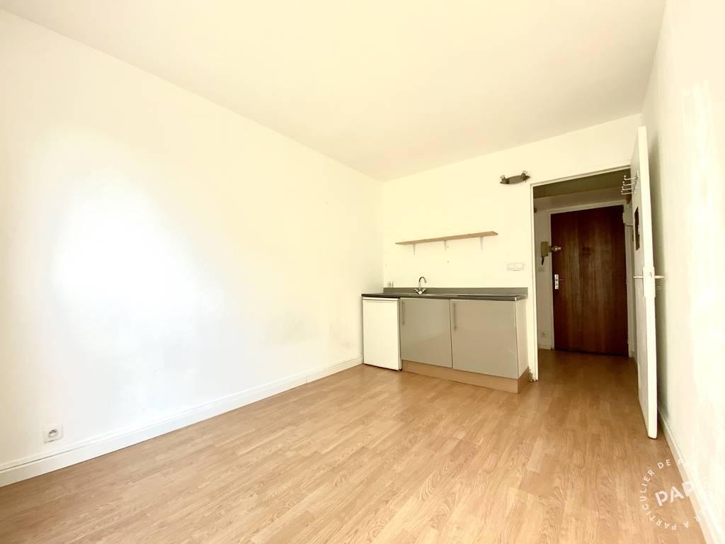Location appartement studio Paris 19e