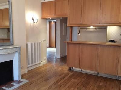 Location appartement 3pièces 50m² Levallois-Perret - 1.450€