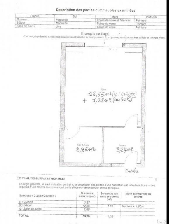 Vente Cabourg 20m²