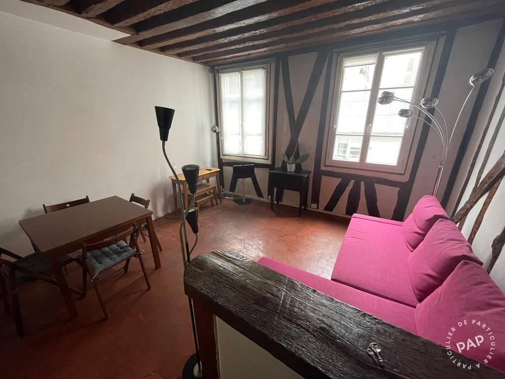 Location Appartement Paris 3E 30m² 1.100€