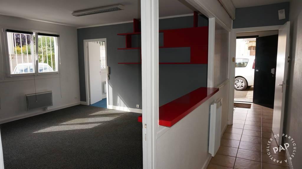 Location Bureaux et locaux professionnels 60m²