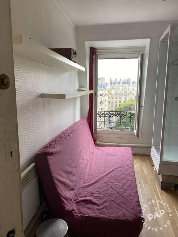Location appartement studio Paris 18e