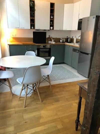 Location meublée appartement 2pièces 40m² Paris 1Er - 1.750€