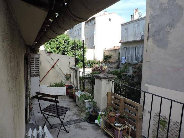 Vente appartement studio Marseille 5e