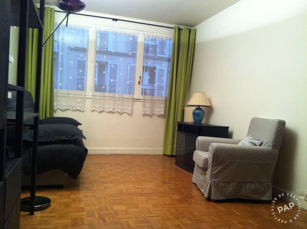 Location meublée studio 30 m2 Paris 17E
