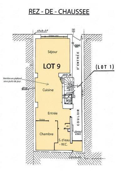 Location appartement 2 pi ces 48 m bordeaux 33000 48 for Location appartement atypique bordeaux 33000