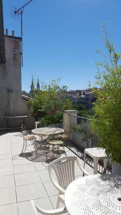 Location meubl�e appartement 4pi�ces 90m� Marseille 1Er - 1.750€