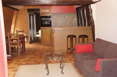 Location meublée appartement 2pièces 60m² Auxerre (89) Sougeres sur Sinotte