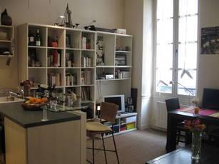 Location meublée appartement 2pièces 37m² Paris 6E - 1.450€
