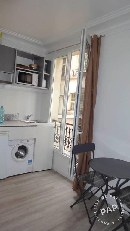 Location meubl e studio 16 m paris 17e 16 m 760 for Location meuble paris 17 particulier