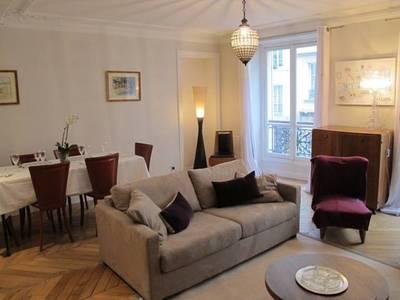 Location meubl�e appartement 5pi�ces 110m� Paris 6E - 4.200€
