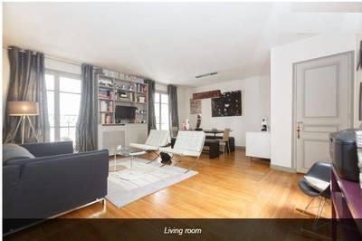 Location meublée appartement 2pièces 62m² Neuilly-Sur-Seine (92200) - 1.950€