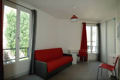 Location meublée studio 17m² Paris - 740€