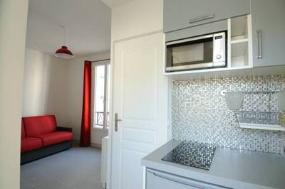 Location meublée appartement 2pièces 25m² Paris 18E - 990€