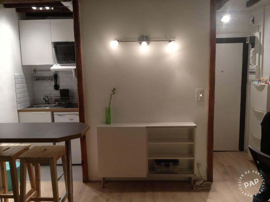 Location meubl e studio 17 m paris 2e 17 m 750 e for Location meuble paris 17 particulier