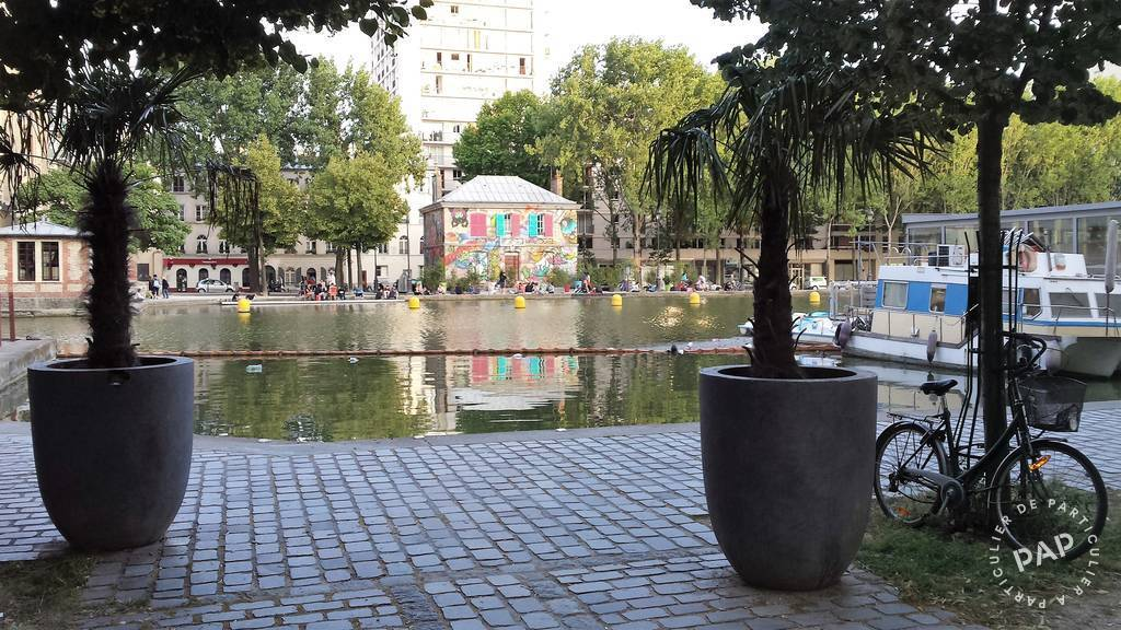 Location meubl e chambre 12 m paris 19e 12 m 580 for Chambre chez habitant paris