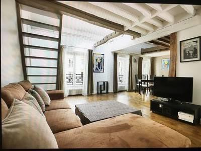 Location meublée appartement 4pièces 85m² Paris 7E - 2.400€