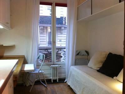 Location meublée studio 10m² Paris - 500€