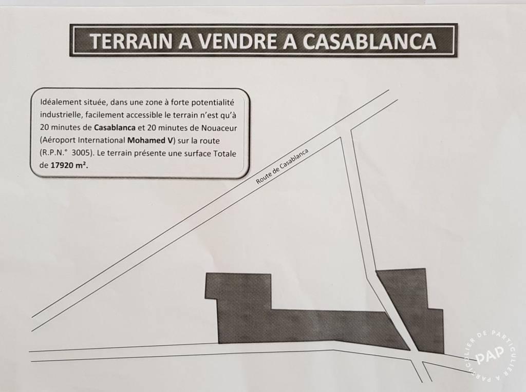 Vente Terrain Casablanca