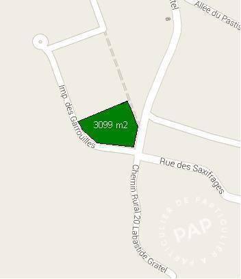 Vente Terrain Carcassonne (11000) 733m² 134.000€