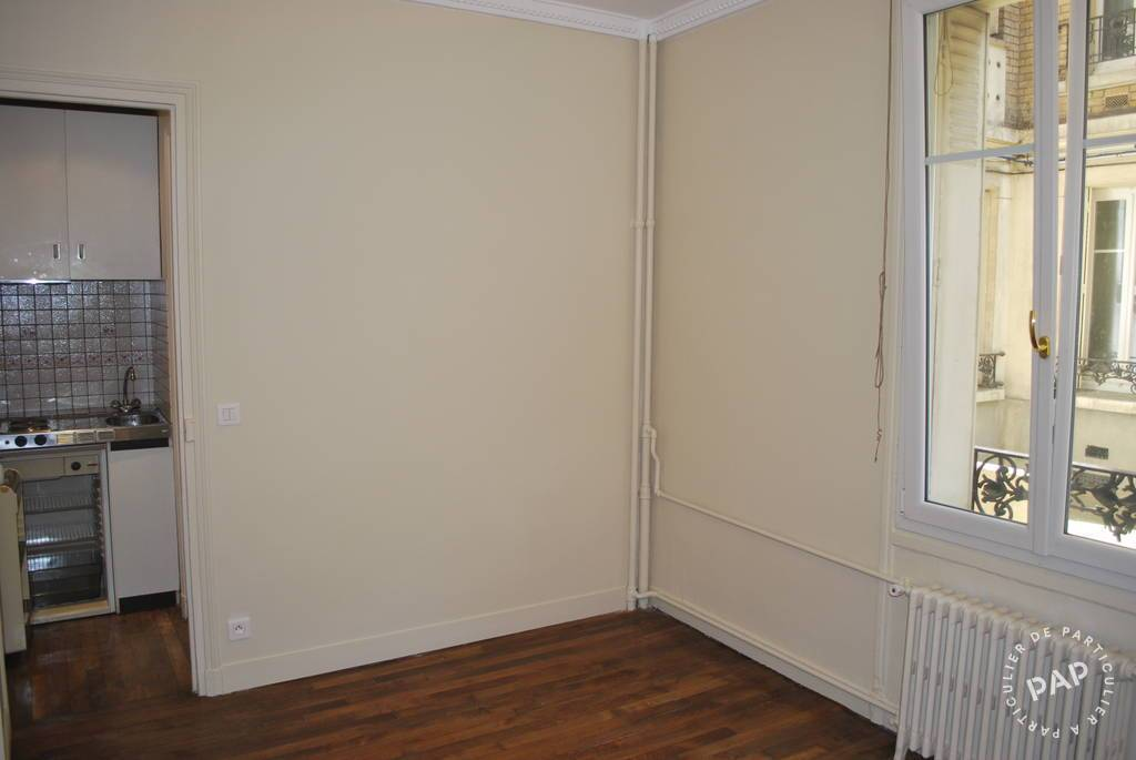 Location studio 20 m2 Paris 17E