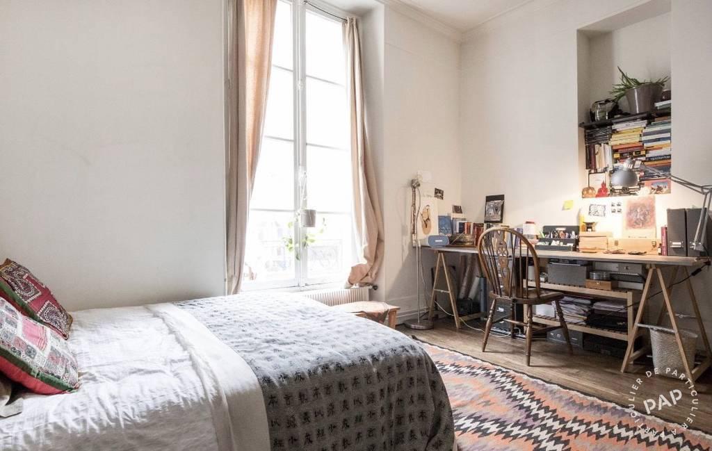Location appartement 2 pièces Paris 3e