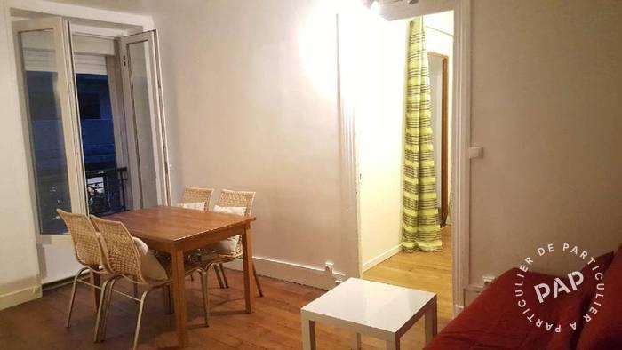 Location appartement 3 pièces Paris 10e