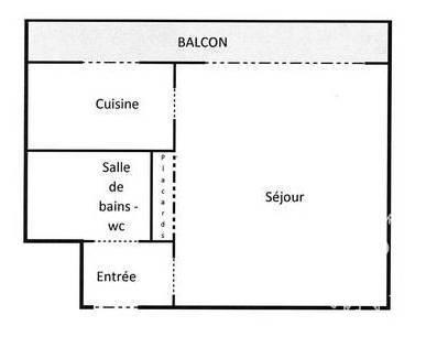 location studio 36 m poitiers 36 m 380 de particulier particulier pap. Black Bedroom Furniture Sets. Home Design Ideas